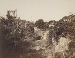 Old Fort of Bassein. Scenery, near the south entrance of St Mary's Church